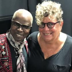 Angelique Kidjo with Rita Houston