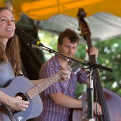 Ani DiFranco and Todd Sickafoose