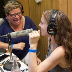 Rita Houston with Ani DiFranco
