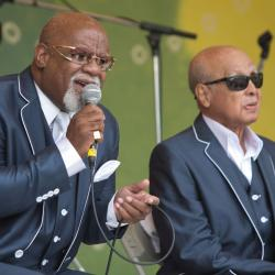 The Blind Boys of Alabama at Clearwater 2015.