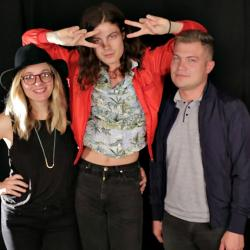 BØRNS at WFUV (Photo by Mary Munshower)