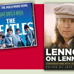 Beatles CD and Lennon Book