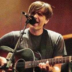 Death Cab For Cutie's Ben Gibbard at Electric Lady Studio (photo by Gus Philippas)