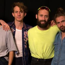 Big Thief in Studio A (photo by Jake Lee/WFUV)