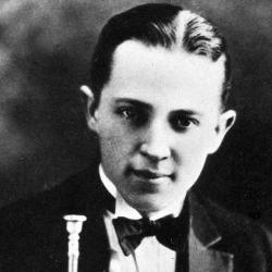 Bix Beiderbecke in Davenport, Iowa circa 1921 (AP Photo)