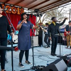 Black Pumas at South x San José (photo by Gus Philippas/WFUV)