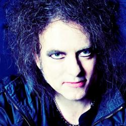 Robert Smith of The Cure (photo courtesy of the artist, Facebook.com)