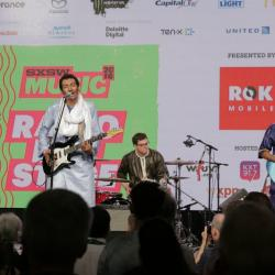Bombino at SXSW Radio Day Stage