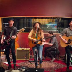 Brandi Carlile and band at Electric Lady Studios