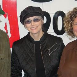 Buddy Miller, Emmylou Harris and Rita Houston at WFUV