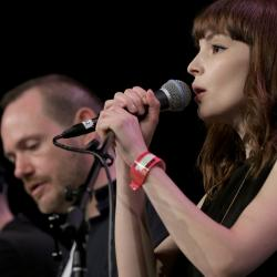 CHVRCHES at SXSW Radio Day Stage