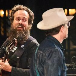 Iron & Wine and Calexico at the BRIC Celebrate Brooklyn! Festival (photo by Gus Philippas/WFUV)