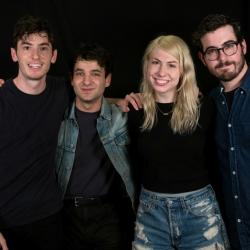 Charly Bliss at WFUV (photo by Veronica Moyer)
