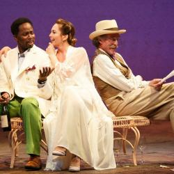 Harold Perrineau, Diane Lane, John Glover (Photo: Joan Marcus courtesy of Polk & Co.)