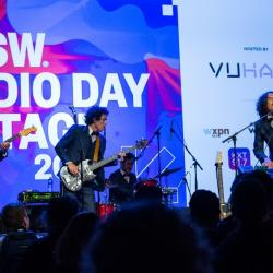 Chicano Batman at the SXSW Radio Day Stage, powered by VuHaus.
