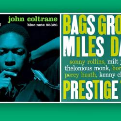 Rudy Van Gelder's credits included these albums from John Coltrane and Miles Davis.