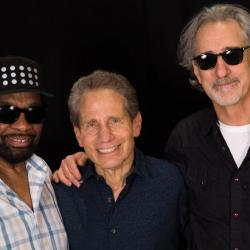 William Bell, Dennis Elsas and John Leventhal at WFUV