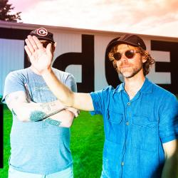Big Red Machine's Justin Vernon and Aaron Dessner (photo by Graham Tolbert, PR)