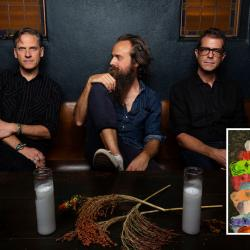 Calexico and Iron & Wine (photo by Piper Ferguson, PR)