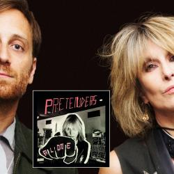 Dan Auerbach with Pretenders' Chrissie Hynde (photo by Jill Furmanovsky)