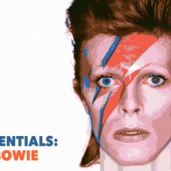 David Bowie, the cover of Aladdin Sane (photo and cover art by Brian Duffy)