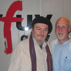 Dr. John with John Platt (photo courtesy of WFUV)