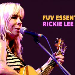Rickie Lee Jones in 2010 (photo courtesy of Wikimedia Commons)