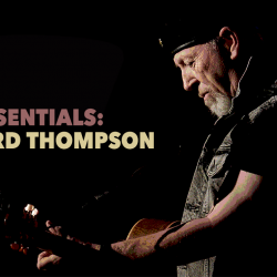 Richard Thompson (original photo by Gus Philippas)
