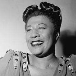Ella Fitzgerald (Photo by William P. Gottlieb from Wikimedia)