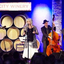 Emmylou Harris and Rodney Crowell at City Winery