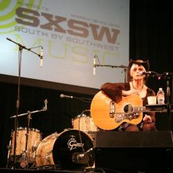 Rita Houston and Emmylou Harris at SXSW