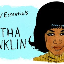 Aretha Franklin (illlustration by Andy Friedman)