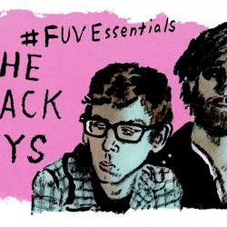 The Black Keys (illustration by Andy Friedman)