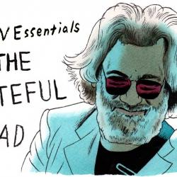Jerry Garcia illustration by Andy Friedman