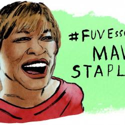 Mavis Staples (illustration by Andy Friedman)