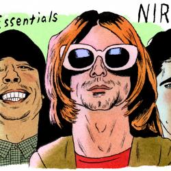 Nirvana (illustration by Andy Friedman)