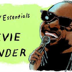 Stevie Wonder (illustration by Andy Friedman)
