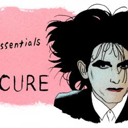 The Cure's Robert Smith (illustration by Andy Friedman)
