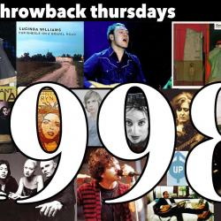1998 (collage compiled by Laura Fedele, WFUV)