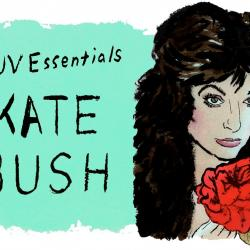 Kate Bush (illustration by Andy Friedman)