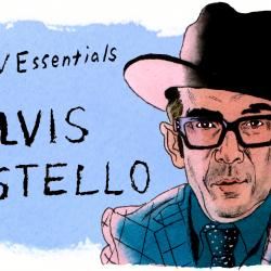 Elvis Costello (illustration by Andy Friedman)