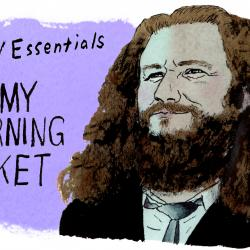 My Morning Jacket's Jim James (illustration by Andy Friedman)