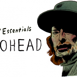 Radiohead's Thom Yorke (illustration by Andy Friedman)