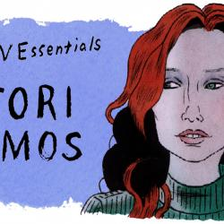 Tori Amos (illustration by Andy Friedman)