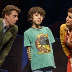 Christian Borle, Andrew Rosenthal, Stephanie J. Block (Photo: Joan Marcus, PR)