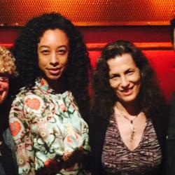Rita Houston, Corinne Bailey Rae, Kara Manning and Alan Light
