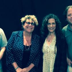 Buzz Poole, Rita Houston, Kara Manning & Pete Shapiro at WFUV