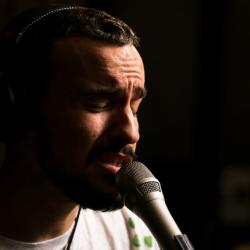 Gabriel Garzon-Montano (photo by Brian Gallagher/WFUV)