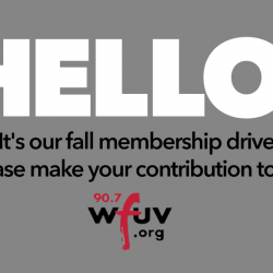 Hello! It's our fall member drive.