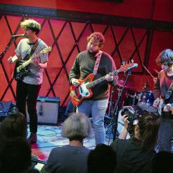 FUV Live at CMJ with Hooton Tennis Club (photo by Gus Philippas/WFUV)